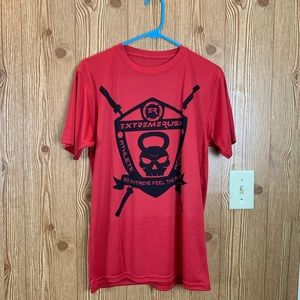 EXTREMERUSH APPAREL RED SHIRT FOR MEN'S SIZE S